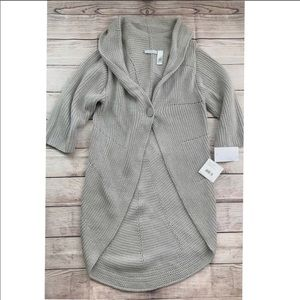 JH Collectibles women's long sweater cardigan XL